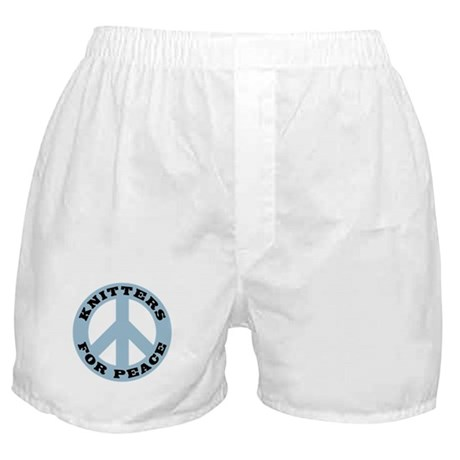 Knitters For Peace Boxer Shorts