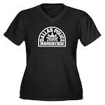 Dallas Dopers Women's Plus Size V-Neck Dark T-Shir