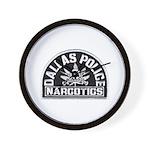 Dallas Dopers Wall Clock