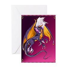 The Purple Dragon Greeting Card