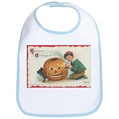 Pumpkin Boy Bib