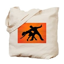 Dazzling Dance Silhouettes Tote Bag