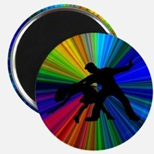 Dazzling Dance Silhouettes Magnet