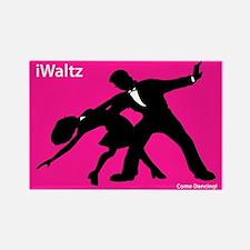 iWaltz Ballroom Dance Rectangle Magnet