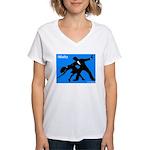 iWaltz Ballroom Dance Women's V-Neck T-Shirt