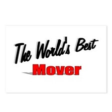 """""""The World's Best Mover"""" Postcards (Package of 8)"""