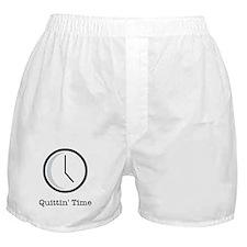 Quittin' time Boxer Shorts