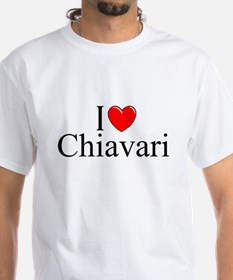 """I Love (Heart) Chiavari"" Shirt"