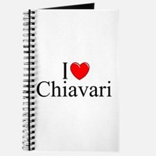 """I Love (Heart) Chiavari"" Journal"
