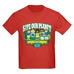 Earth Kids Iowa Kids Dark T-Shirt