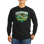 Earth Kids Iowa Long Sleeve Dark T-Shirt