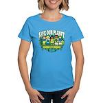 Earth Kids Iowa Women's Dark T-Shirt