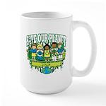Earth Kids Iowa Large Mug