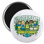 Earth Kids Iowa Magnet