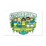 Earth Kids Iowa Mini Poster Print