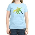 Rainbow Dancer Silhouettes Women's Light T-Shirt