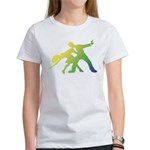Rainbow Dancer Silhouettes Women's T-Shirt