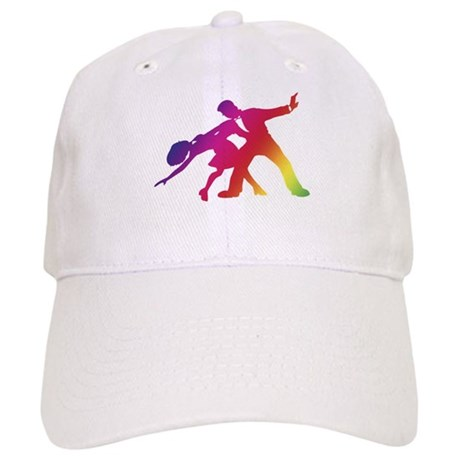 Rainbow Dancer Silhouettes Cap