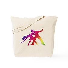 Rainbow Dancer Silhouettes Tote Bag