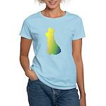 Rainbow Dancer Silhouettes Women's Light T-Shirt