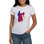 Rainbow Dancer Silhouettes Women's T-Shirt