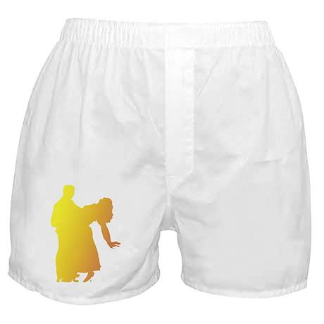 Rainbow Dancer Silhouettes Boxer Shorts