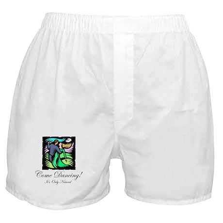 Night Dancing Boxer Shorts