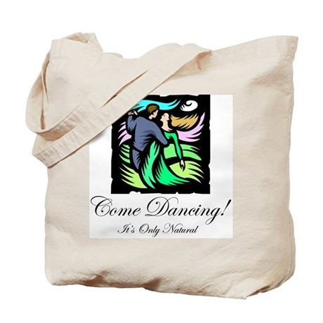 Night Dancing Tote Bag