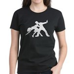 Dancer Silhouettes #1 Women's Dark T-Shirt