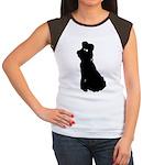 Dancer Silhouettes #2 Women's Cap Sleeve T-Shirt