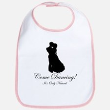 Dancer Silhouettes #2 Bib