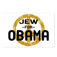Jew for Obama Postcards (Package of 8)