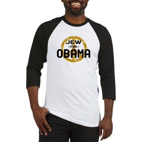 Jew for Obama Baseball Jersey