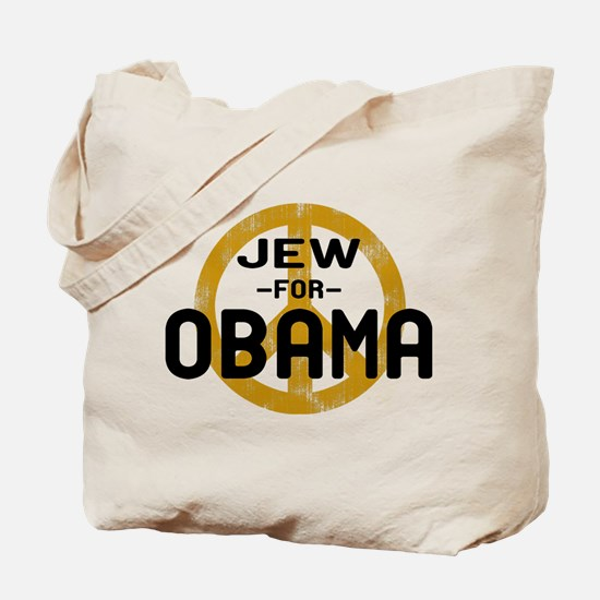 Jew for Obama Tote Bag