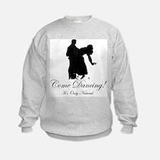 Dancer Silhouettes #3 Sweatshirt