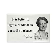 Eleanor Roosevelt 6 Rectangle Magnet