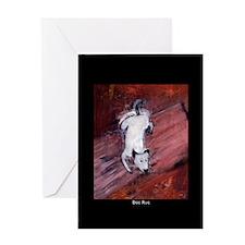 Dog Rug Greeting Card
