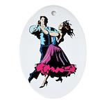Tango! #2 Ornament (Oval)