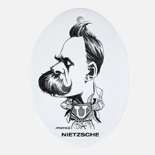 Nietzsche Oval Ornament