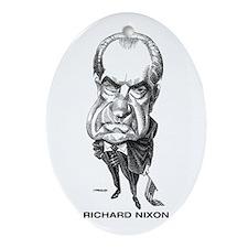 Richard Nixon Oval Ornament