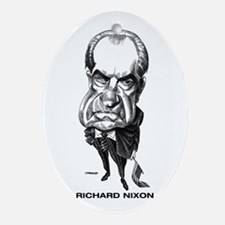 Richard Nixon Oval Ornament