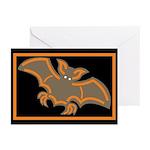 Halloween Bat Greeting Cards (Pk of 10)