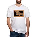 Halloween Bat Fitted T-Shirt