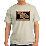 Halloween Bat Ash Grey T-Shirt
