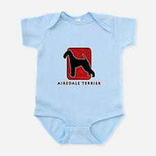 Airedale Terrier Infant Bodysuit