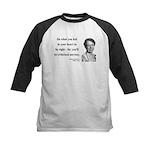 Eleanor Roosevelt 7 Kids Baseball Jersey