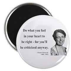Eleanor Roosevelt 7 Magnet