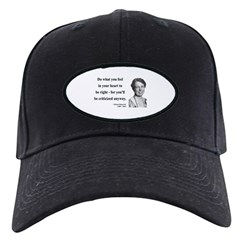 Eleanor Roosevelt 7 Baseball Hat