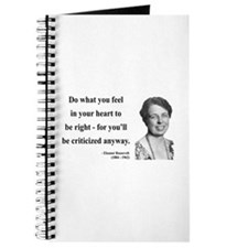 Eleanor Roosevelt 7 Journal