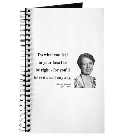 Eleanor Roosevelt 7 Journal